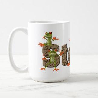 Steve & frogs Mug