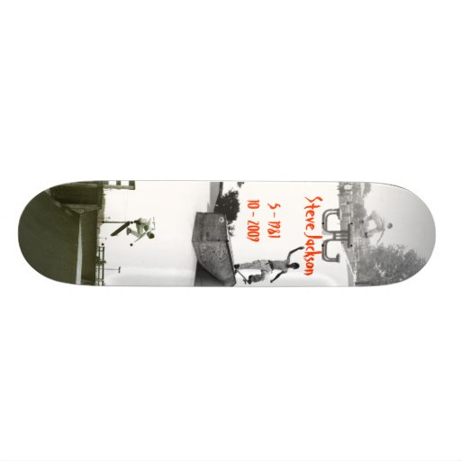 Steve Jackson Skateboard