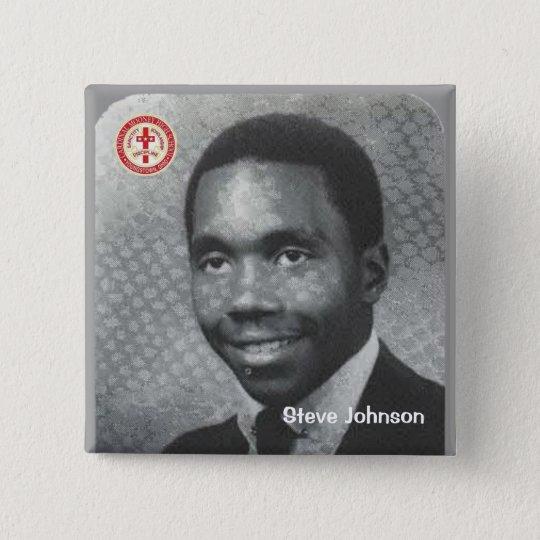 Steve Johnson 15 Cm Square Badge