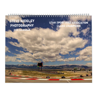 Steve Midgley Photography 2018 Calendar