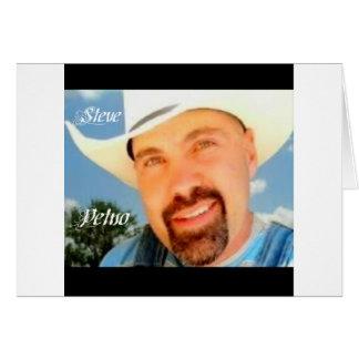 Steve Petno Apron Greeting Card