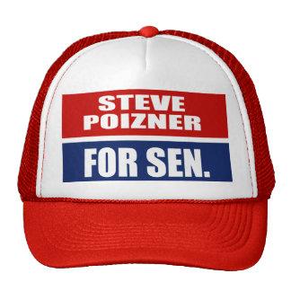 STEVE POIZNER FOR GOVERNOR TRUCKER HAT