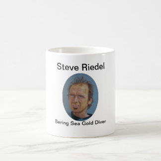 Steve Riedel-Bering Sea Gold Diver on Mug