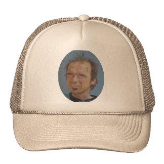 Steve Riedel Portrait on Trucker's Hat