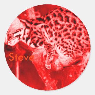 Steve that reaps souls Fan sticker