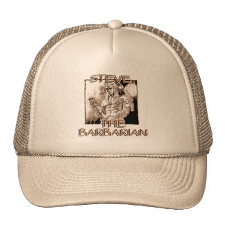 Steve The Barbarian Mesh Hats