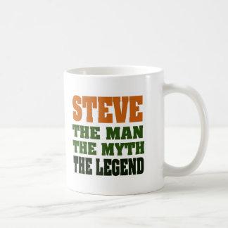 STEVE - the Man, the Myth, the Legend Coffee Mug