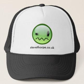 Steve Thorpe Green Smiley Hat