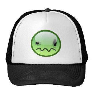 Steve Thorpe Green Smiley hat just Logo