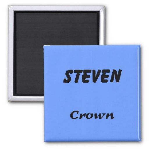 Steven Refrigerator Magnet