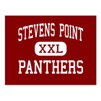 Stevens Point - Panthers - High - Stevens Point Postcard