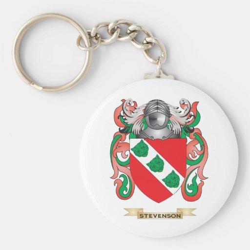 Stevenson Coat of Arms (Family Crest) Keychain