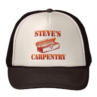 Steve's Carpentry Trucker Hats