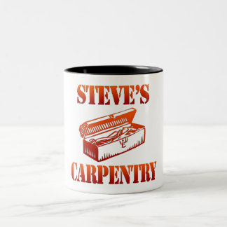 Steve's Carpentry Two-Tone Coffee Mug