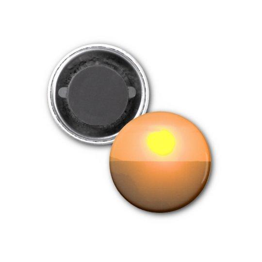 Steve's Sun 3 Cm Round Magnet