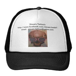 Steve's Tattoo's hat