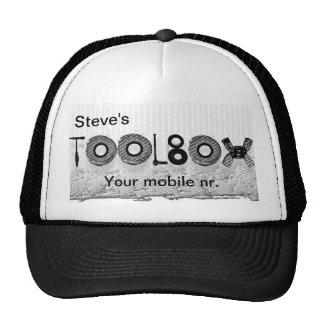 Steve's toolbox cap