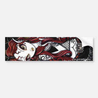 Stevie Red Haired Tattoo Fae Bumper Sticker