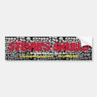 Stevie's Skulls Bumper Sticker