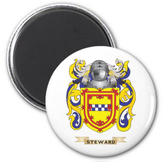 Steward Coat of Arms (Family Crest) Magnets