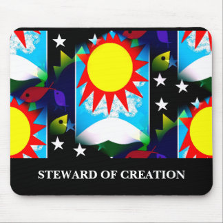 STEWARD OF CREATION MOUSE MAT