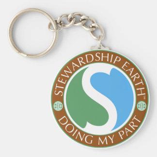 Stewardship Earth Key chain