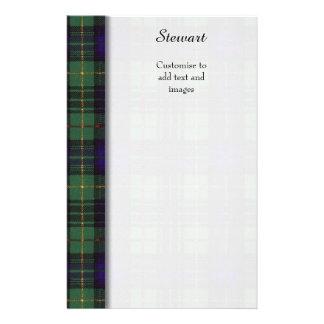 Stewart clan Hunting Plaid Scottish tartan 14 Cm X 21.5 Cm Flyer