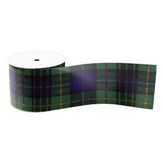 Stewart clan Hunting Plaid Scottish tartan Grosgrain Ribbon