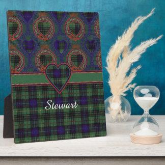 Stewart clan Hunting Plaid Scottish tartan Plaque