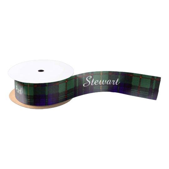 Stewart clan Hunting Plaid Scottish tartan Satin Ribbon