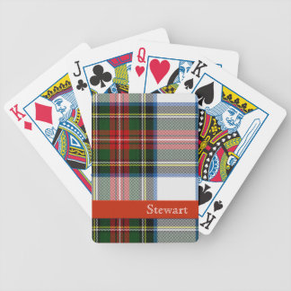 Stewart Dress Tartan Plaid Playing Cards