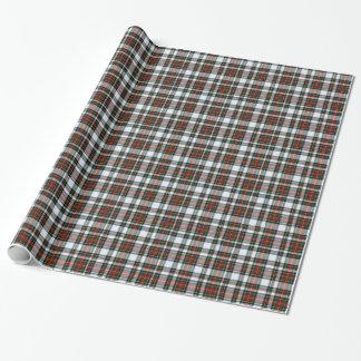 Stewart Dress Tartan Plaid Wrapping Paper