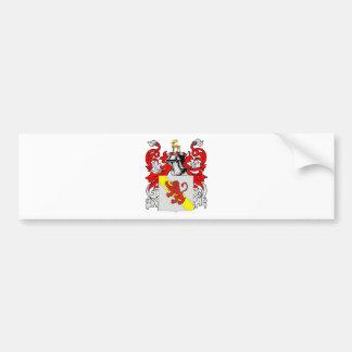 Stewart (English) Coat of Arms Bumper Sticker