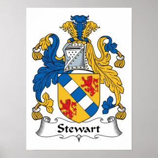 Stewart Family Crest Print