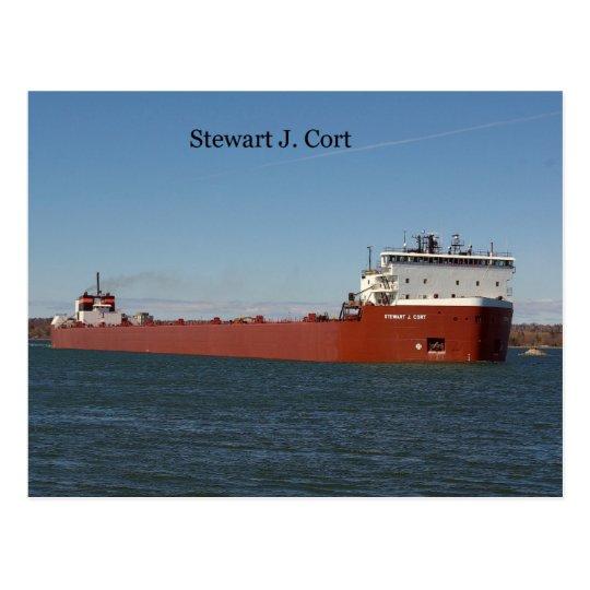 Stewart J. Cort Post Card