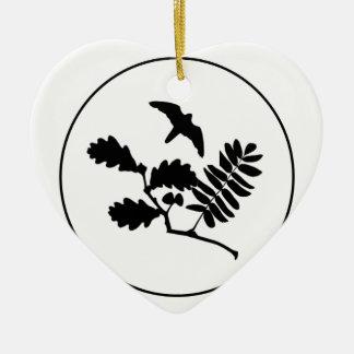 Stewart Rayner May 2014 Ceramic Heart Decoration