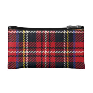 Stewart Red Tartan Cosmetic Bag