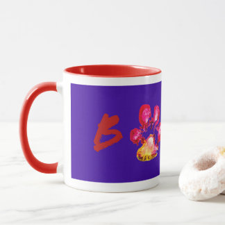 Stewie from The Rock BOXER Pawprint Mug