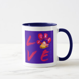 Stewie from The Rock Pawprint LOVE Mug