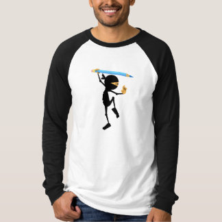 Stewie Ninja Men's Raglan Tee - Animation Mentor