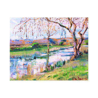 Steyning, Sussex, England Canvas Print