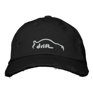 STI Drift Silhouette Embroidered Hats