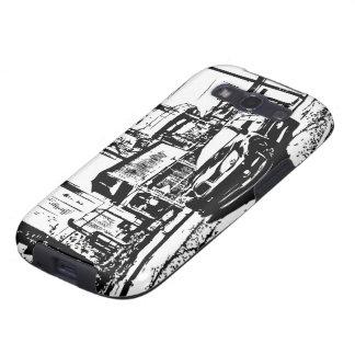 STI Impreza front stance Galaxy SIII Case