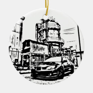 subaru christmas tree decorations ornaments zazzle co uk Subaru WRX Winter sti the streets christmas ornaments