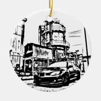"STI ""the streets"" Christmas Ornaments"