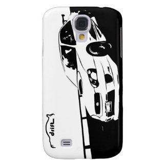 STI WRX Rolling Shot with Drift Logo Galaxy S4 Case
