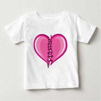 Stiched Broken Heart vector Tee Shirt