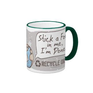 Stick a Fork in Earth Gear Mugs