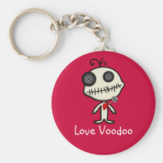 Stick a Pin in Valentine's Day and be Done With It Key Ring