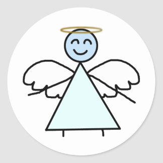 Stick Angel Stickers